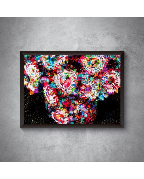 Rainbow Zoanthus poster