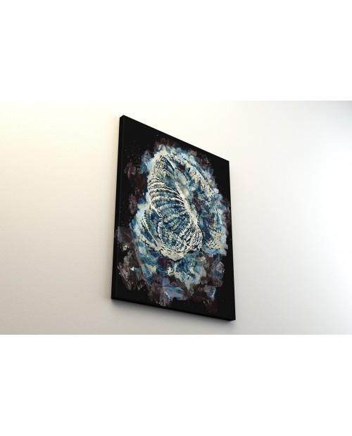 Blue Goniopora – obraz na płótnie