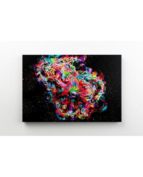 Rainbow Goni – painting on canvas