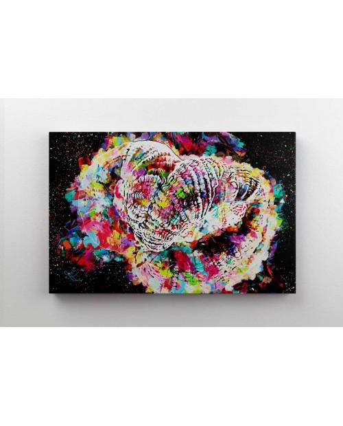 Rainbow Goni - obraz na płótnie